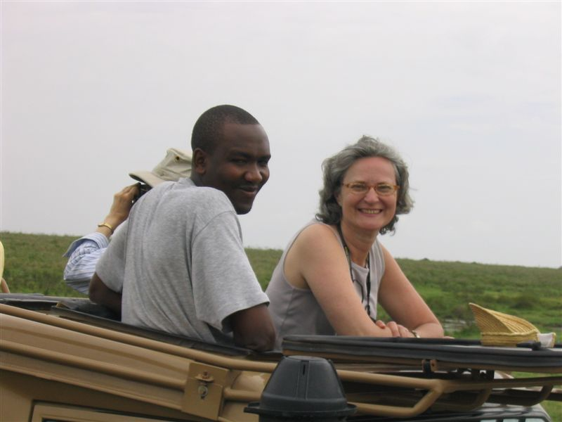 Powering Potential Founder Janice Lathan on Safari in 2006